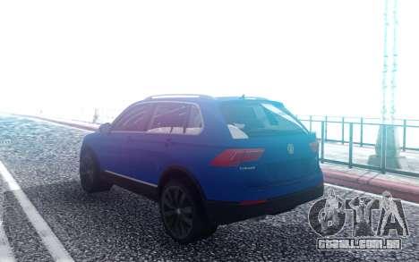 Wolksvagen Tiguan 2018 para GTA San Andreas