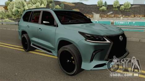 Lexus LX570 Black Edtion 2019 para GTA San Andreas