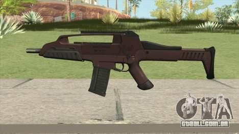 XM8 Compact V2 Red para GTA San Andreas