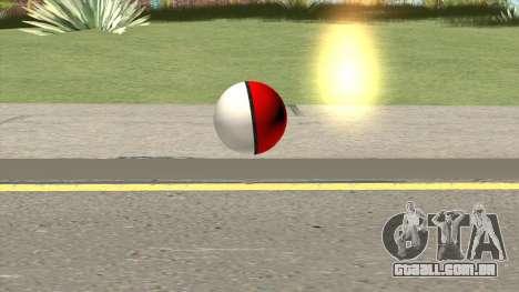 Poke Ball (Red) para GTA San Andreas