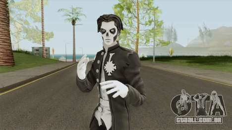 Papa Emeritus lll From Ghost Band para GTA San Andreas