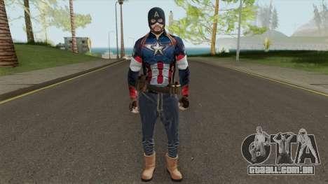 Skin Random 144 (Outfit Captain America) para GTA San Andreas