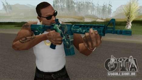 CS-GO M4A4 Poseidon para GTA San Andreas