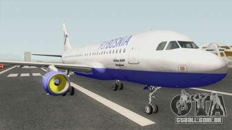 FLYBOSNIA Airbus A319 V2 para GTA San Andreas