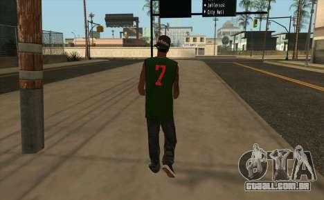Fam 3 HD para GTA San Andreas