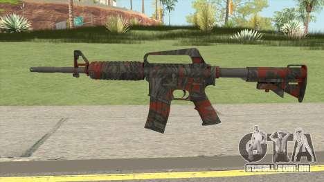 CS:GO M4A1 (Redtiger Skin) para GTA San Andreas