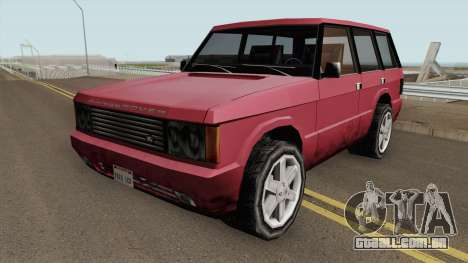Land Rover Range Rover (Huntley Edit) SA Style para GTA San Andreas