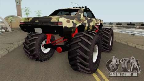 Pontiac GTO Monster Truck Camo Shark 1965 para GTA San Andreas