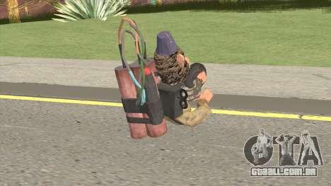 Monkey Bomb para GTA San Andreas