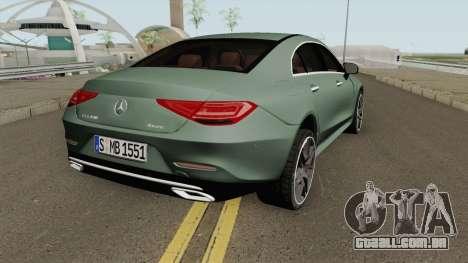 Mercedes-Benz CLS450 4-Matic AMG-Line 2019 para GTA San Andreas