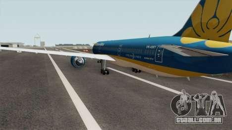 Boeing 787-9 Dreamliner Vietnam Airlines para GTA San Andreas
