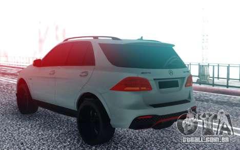 Mercedes-Benz GLE 63 para GTA San Andreas