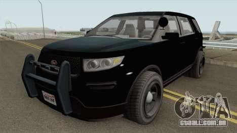 Vapid Police Cruiser Unmarked GTA V IVF para GTA San Andreas