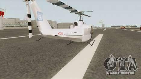 Bell UH-1 Huey United Nations para GTA San Andreas
