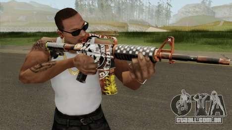 CS:GO M4A1 (Demolition V1 Skin) para GTA San Andreas