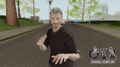 David Beckham Skin para GTA San Andreas