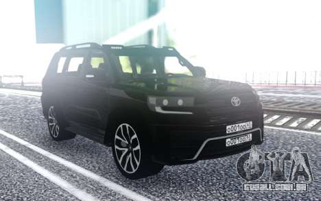 Toyota LC 200 para GTA San Andreas