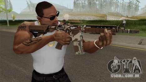 CS-GO M4A4 Desert Storm para GTA San Andreas