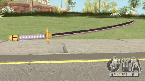 Roronoa Zoro Weapon para GTA San Andreas