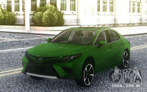 Toyota Camry V70 XSE para GTA San Andreas