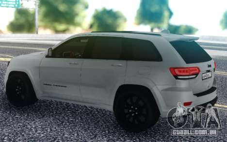 Jeep Grand Cherokee para GTA San Andreas