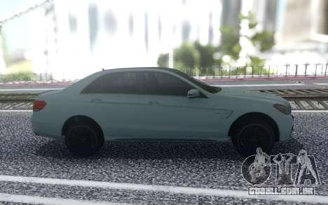 Mercedes-Benz AMG E63 4MATIC Sedan para GTA San Andreas