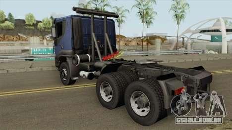 Iveco Trakker E4 2007 V1 para GTA San Andreas