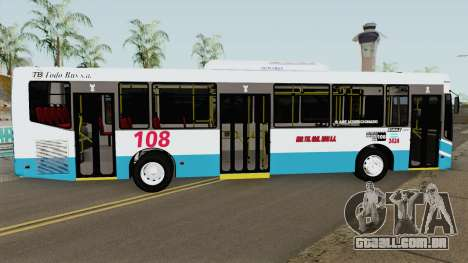 Todobus Pompeya II Agrale MT15 Linea 108 Interno para GTA San Andreas