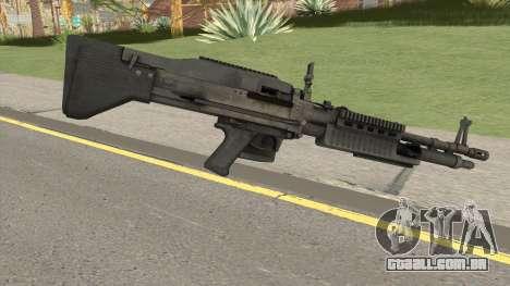 Battlefield 3 M60 para GTA San Andreas