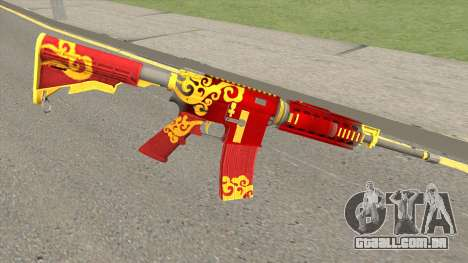 Rules Of Survival AR15 Wild Dragon para GTA San Andreas