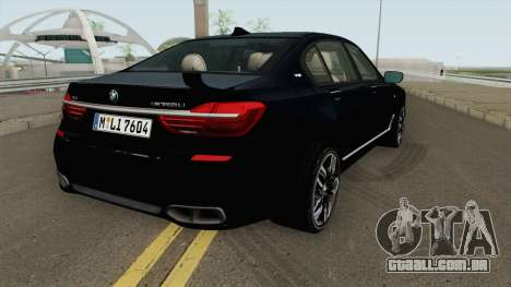 BMW M760LI G12 2018 German V1 para GTA San Andreas