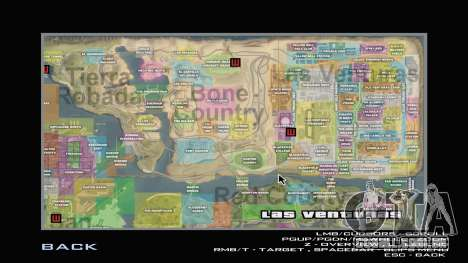 G-Soldier LSRP Detailed Map Radar para GTA San Andreas