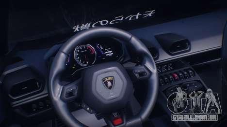 Lamborghini Huracan Rocket Bunny para GTA San Andreas