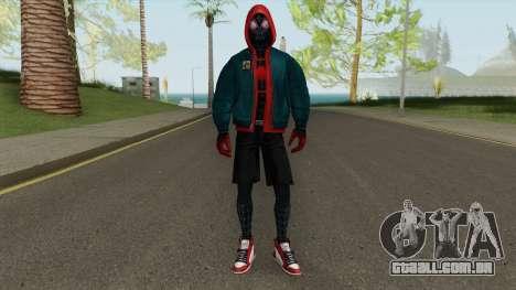Marvel Future Fight Miles Into The Spider-Verse para GTA San Andreas