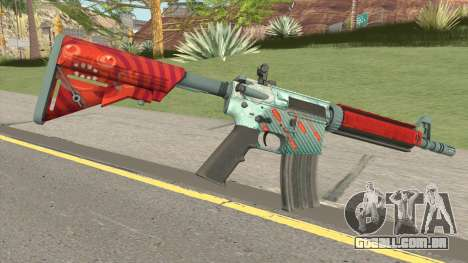 CS-GO M4A4 Bullet Rain para GTA San Andreas