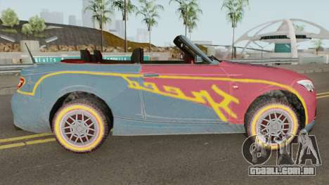 ROS Rosy Comet Car para GTA San Andreas