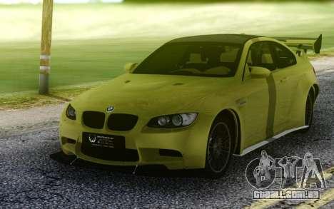 BMW M3 GTS para GTA San Andreas