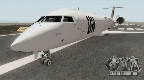 Bombardier CRJ-200 United Nations para GTA San Andreas