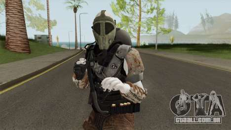 Zombie Skin With Arena War Outfit para GTA San Andreas
