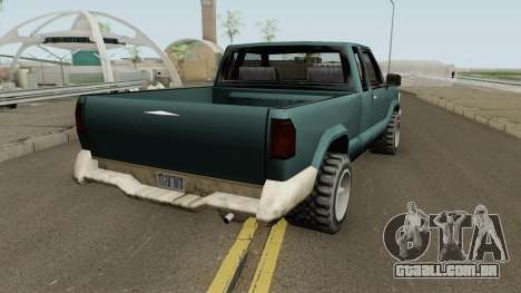 Chevrolet S10 Low Poly Improved Version para GTA San Andreas