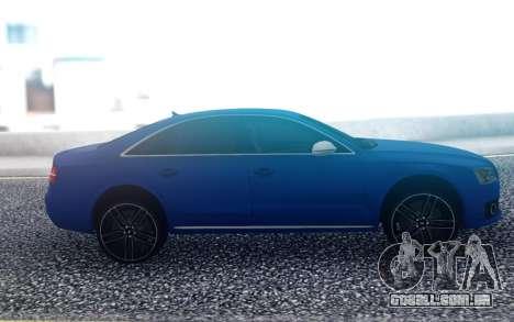 Audi S8 para GTA San Andreas