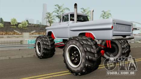 Chevrolet Apache Monster Truck 1958 para GTA San Andreas