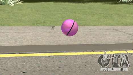 Poke Ball (Pink) para GTA San Andreas