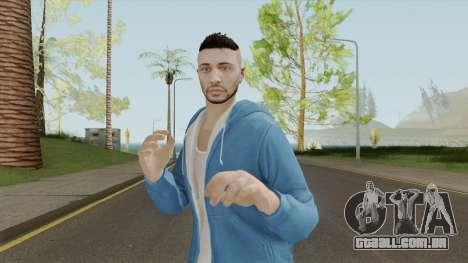 GTA Online Sans Outfit Skin V2 para GTA San Andreas