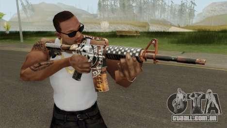 CS:GO M4A1 (Demolition V2 Skin) para GTA San Andreas