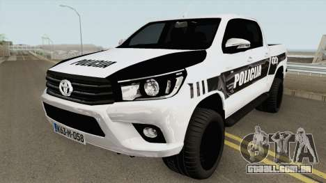 Toyota Hilux POLICIJA BiH para GTA San Andreas