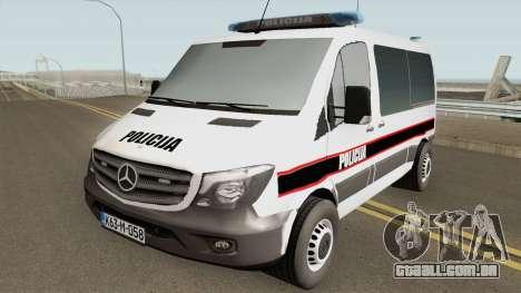 Mercedes-Benz Sprinter POLICIJA BiH para GTA San Andreas