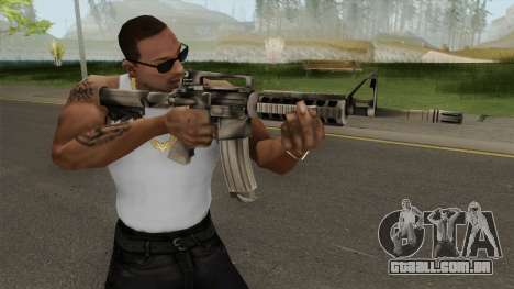 Battlefield 3 M4A1 para GTA San Andreas