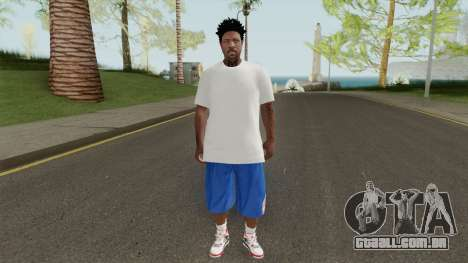 Skin Random 145 New York Knicks para GTA San Andreas