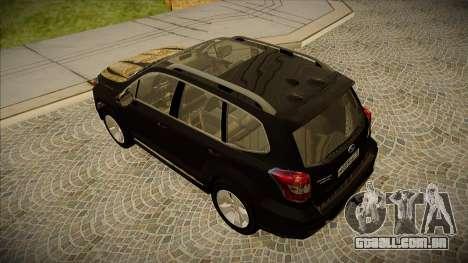 Subaru Forester 2014 XT para GTA San Andreas